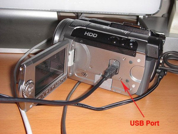 Canon-HG10-USB-Port