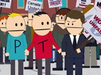 "Season 12 Episode 4 - ""Canada On Strike"" - Terrance & Philip"