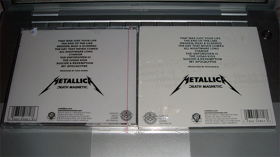 Metallica Death Magnetic Is Officially Released